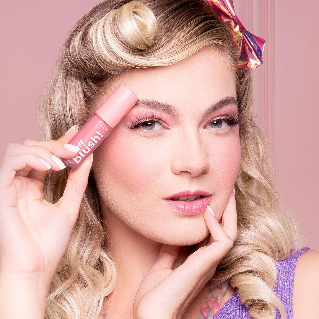 Oh My Blush: tudo sobre o novo blush líquido da Vizzela
