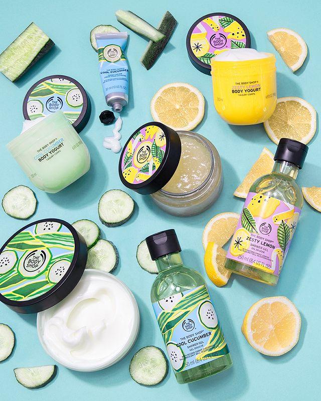 Pepino e Limão: as incríveis fragrâncias de verão da The Body Shop