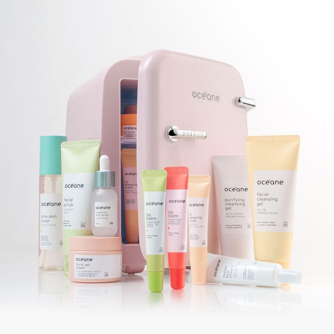 Linha Skincare Océane: a tecnologia da k-beauty adaptada à pele brasileira