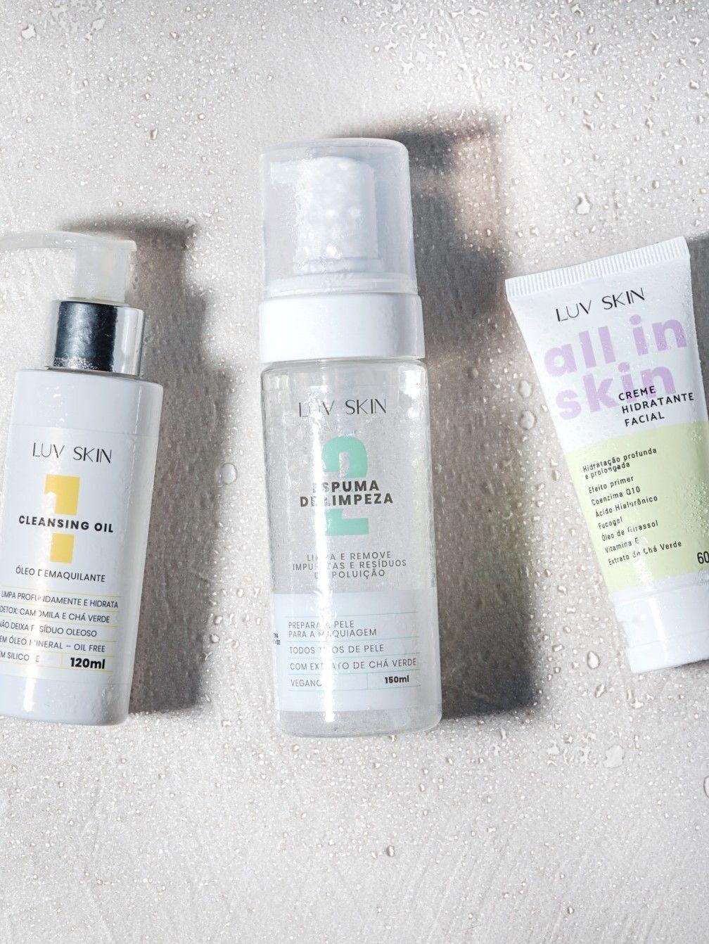 Luv Skin: a marca e os produtos que te convidam a amar sua pele