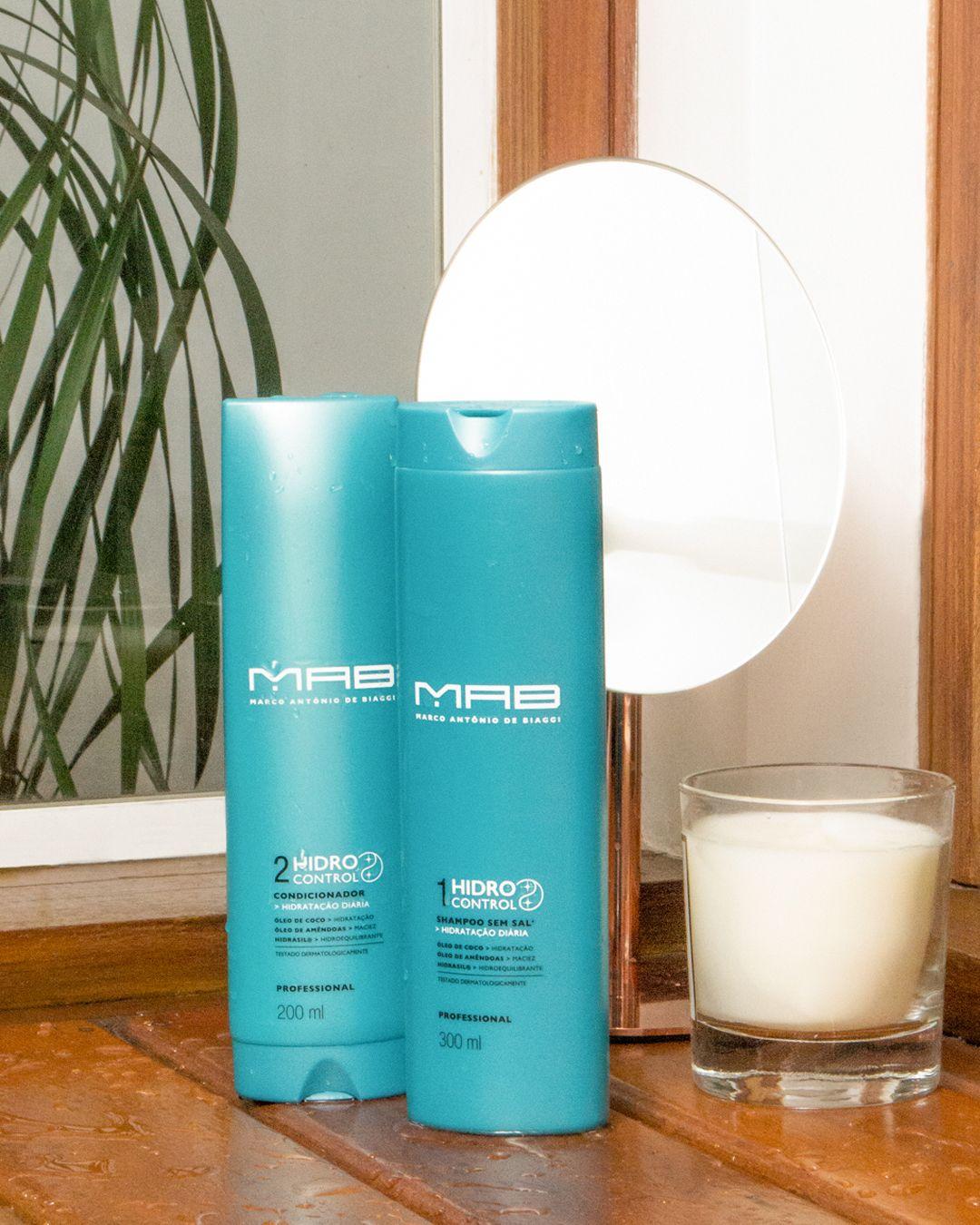 Shampoos e condicionadores MAB: resultado de salão sem sair de casa